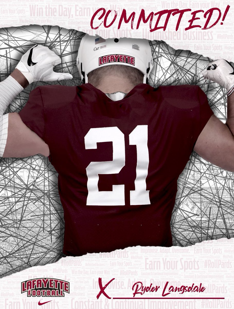 I'm beyond excited to announce I will be furthering my academic and football career at Lafayette College @LafColFootball @CoachSeumalo @coachbartelFB @CoachJMGarrett