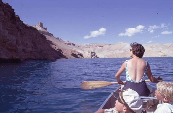 Band-e Amir National Park of #Bamiyan Province in 1970 #Afghanistan