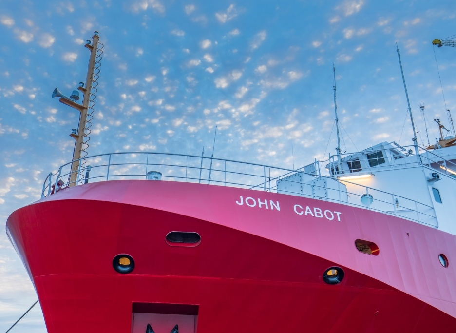 Cdr On Twitter Canada Marks The Delivery Cggs Johncabot The Delivery Of This Third And Final Offshore Fisheries Science Vessel Ofsv Marks The Completion Of The First Class Of Large Ships Built