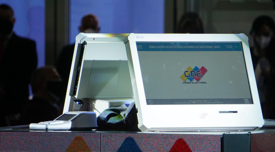 Maquina de Votación parlamentarias