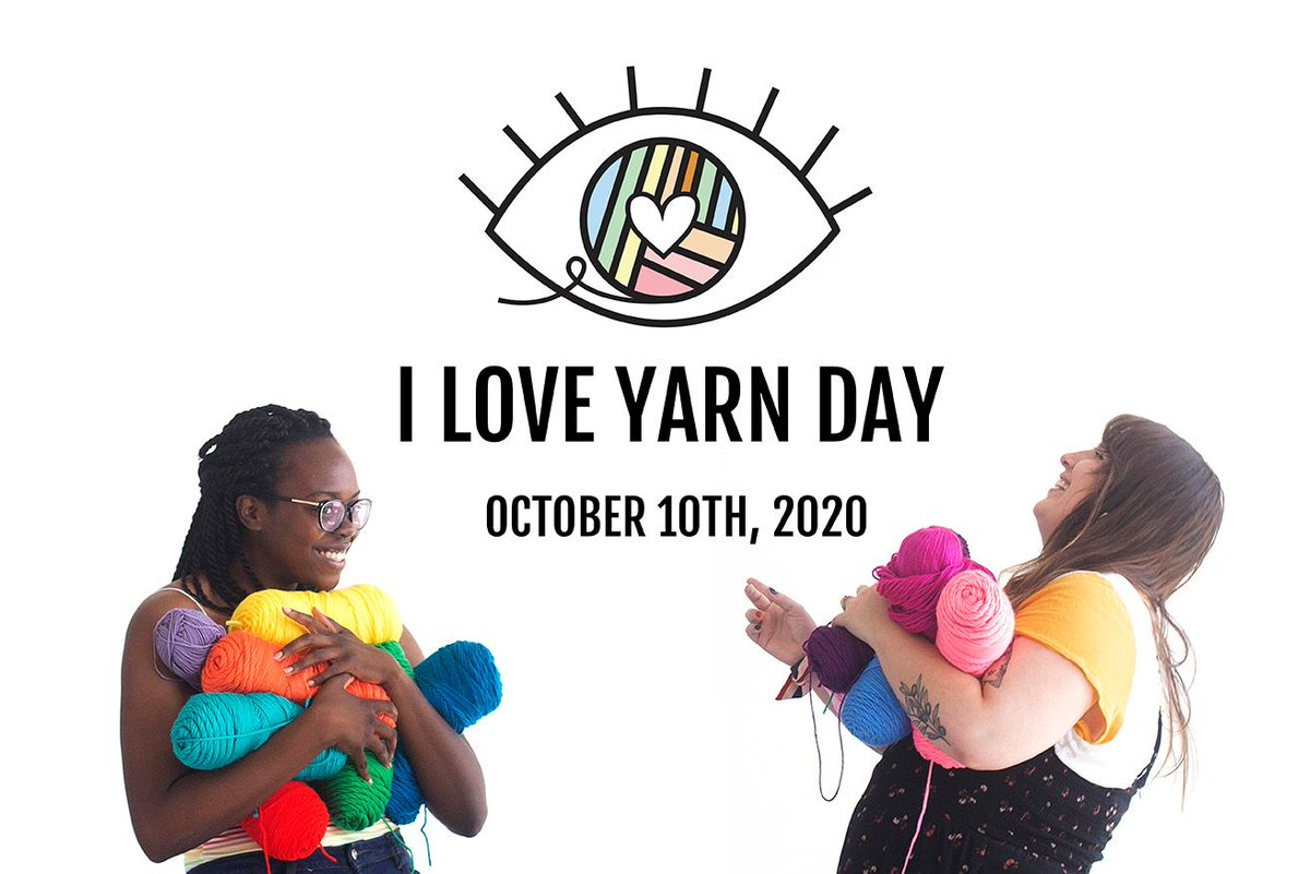 This Saturday, October 10th, 2020 we are participating in I Love Yarn Day with @cycyarncouncil! You can watch a live-streamed tour of Intangible tomorrow from 11 am to 3:30 pm CT on the Craft Yarn Council and Lion Brand Facebook pages.  https://t.co/j9ayXDEBi5 https://t.co/8asbDDtQhf