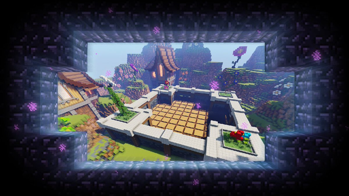 Hastily climbing to escape a volcano; building clues in a giant game of Pictionary, or being the last one standing in a colour-crazy world: it's all about competition in October's additions to Java Realms! Who are you pushing into lava this month? ↣ redsto.ne/javarealmsocto… ↢