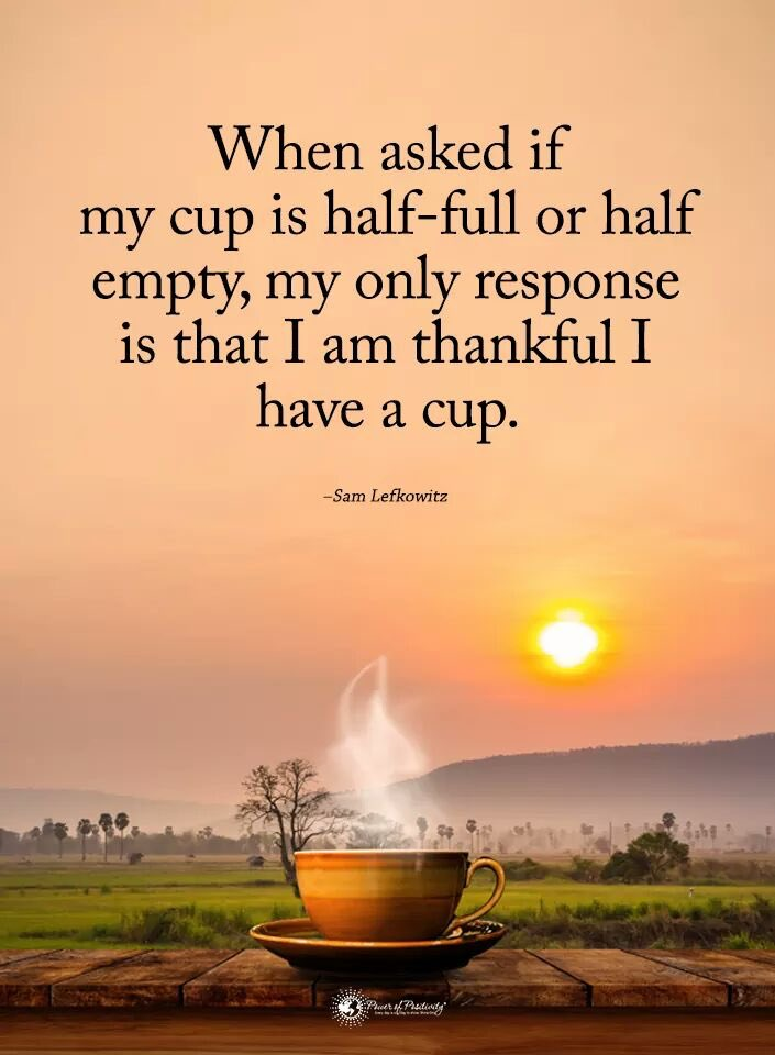 Time to look at things differently !😊 . #halfull  #halfempty  #gottacup  #mycup  #fullyourcup  #howdoyouseeit  #begrateful  #enjoyeverymoment https://t.co/q5aBAkh648