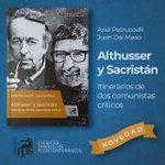 "Image for the Tweet beginning: [NOVEDAD] Ya salió ""Althusser y Sacristán,"