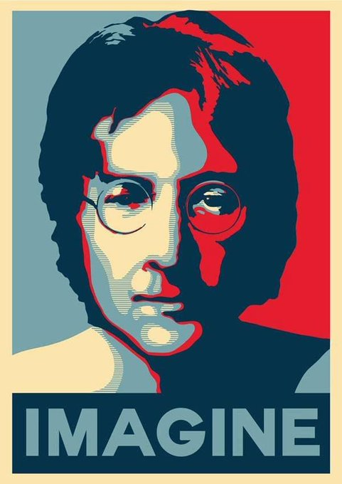 Happy 80th Birthday John Lennon - you are missed
