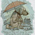 「犬一匹救っても世界を変えることはできないけれど…。」その後に続く素敵な言葉に感動!