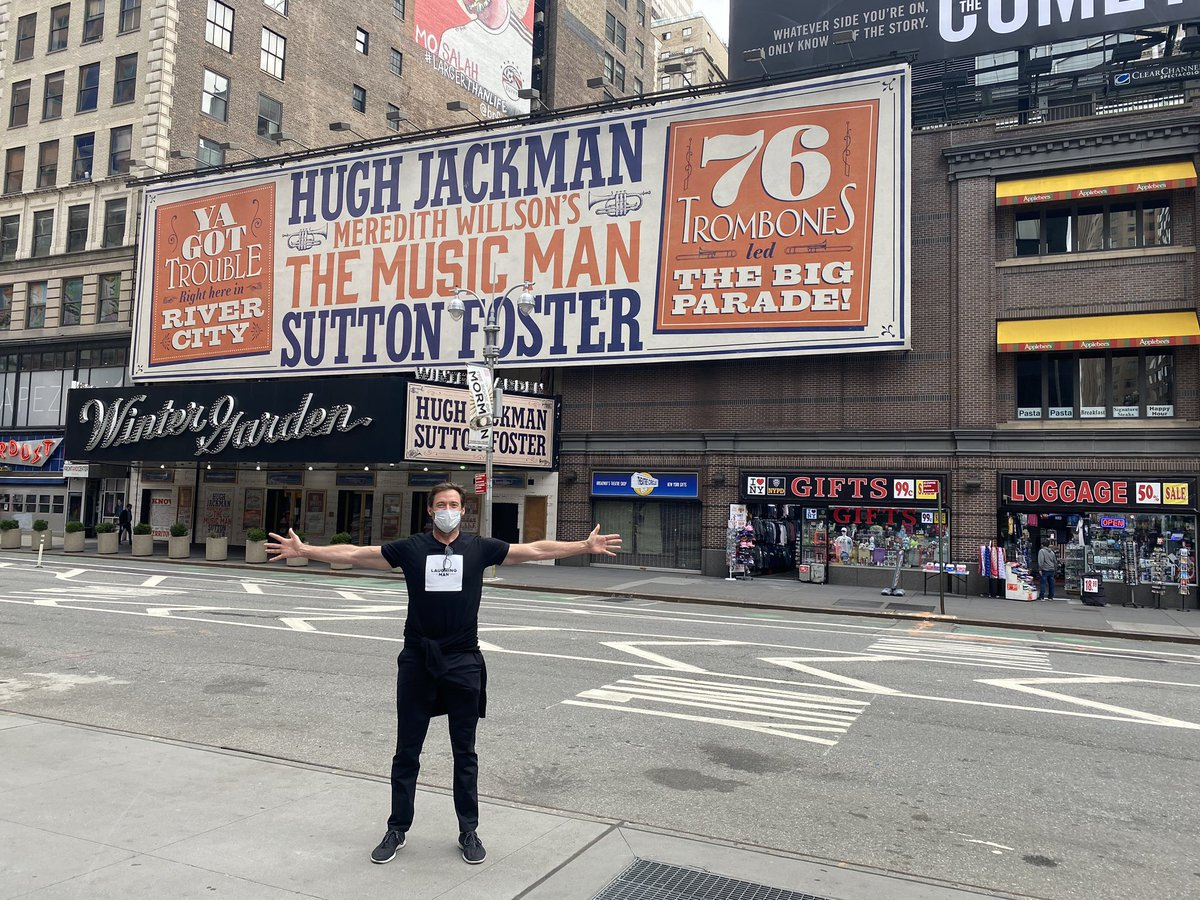 When Broadway is ready for us ... we will be ready for you! @sfosternyc #TheMusicMan #Broadway