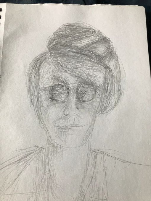 "New art for sale! \""Happy Birthday John Lennon\"". Buy it at:"