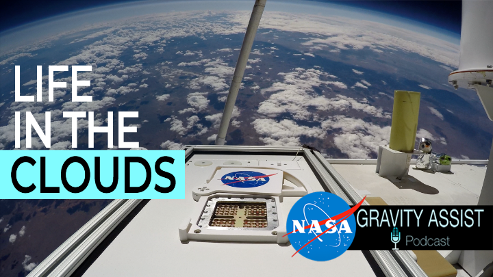 What is aerobiology and why is it important? ☁️ On the latest episode of our #GravityAssist podcast, Dr. David Smith of @NASAAstrobio describes microbial life high up in the clouds and how studying it may help us detect life on other planets. 🎧 Listen: go.nasa.gov/33MR3lY