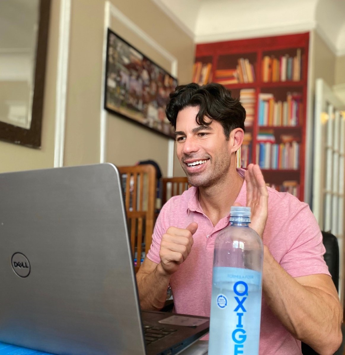 @NicholasFerroni, educator and activist, credits his ability to thrive during this challenging time to meditation, training, and staying hydrated with OXIGEN. #RecoverandRise #drinkOXIGEN