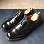 Image for the Tweet beginning: MOTO 母方の地元 鳥取の靴。履きやすい綺麗なラスト、オンオフ問わない名靴です。 #shoes #mensshoes #shoecare #shoeshine