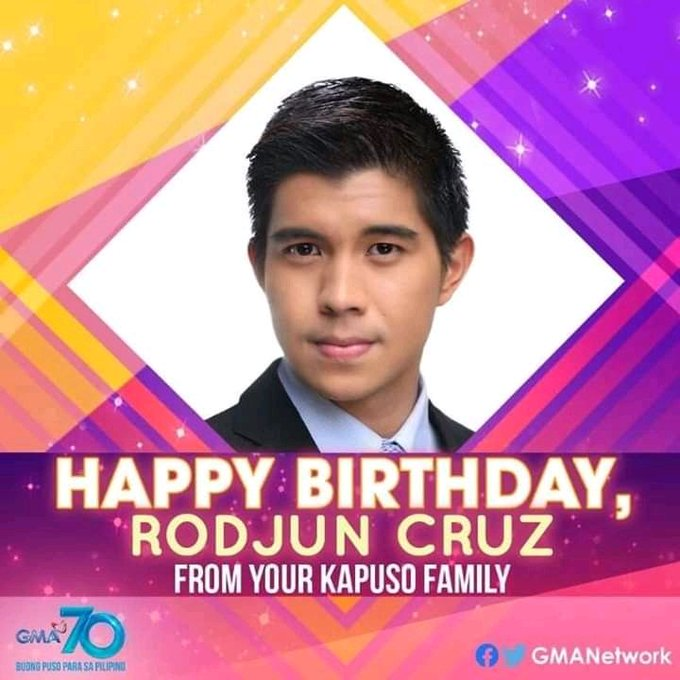 Happy birthday kuya rodjun cruz stat safe kuya KapusoBrigade
