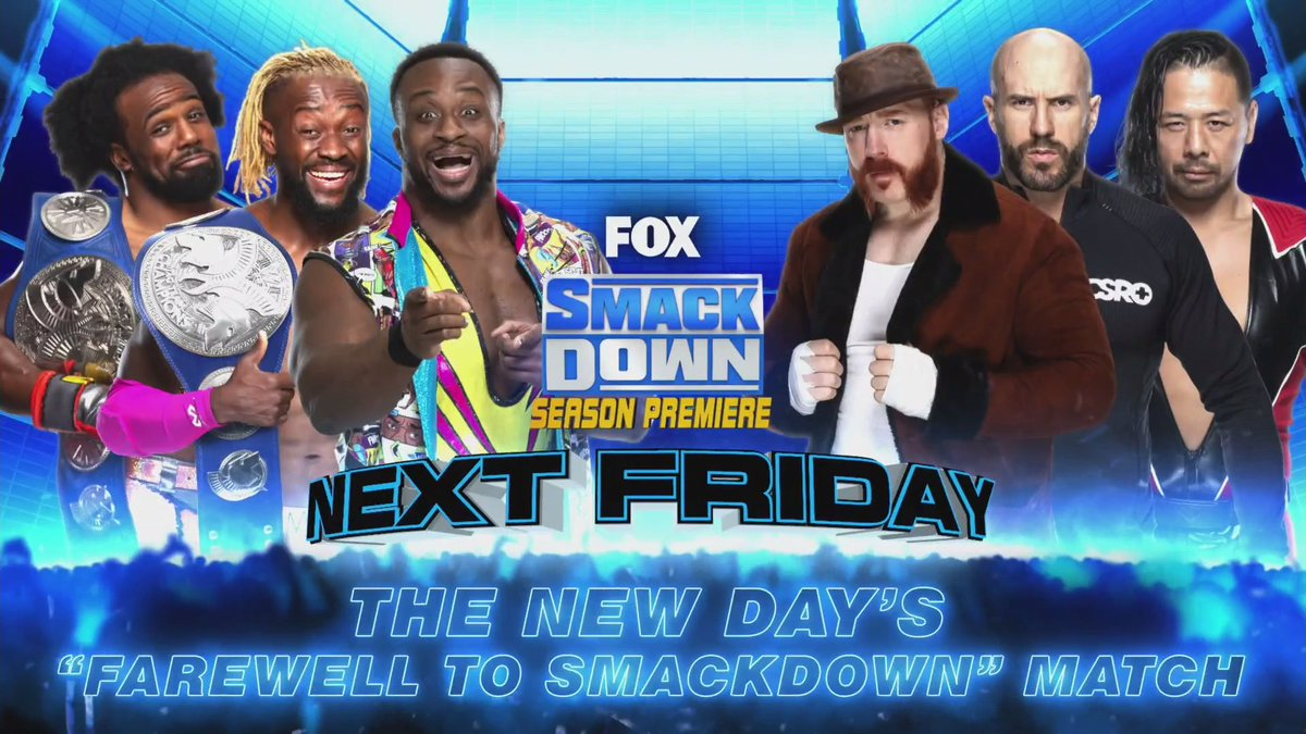 WWE Universal Title Match And More Announced For SmackDown On FOX Season 2 Premiere Episode