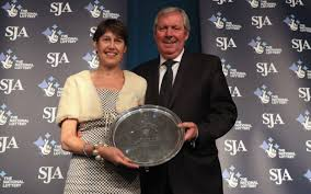 Congratulations Sir Brendan Foster. Here's when my Queen presented him with an award.