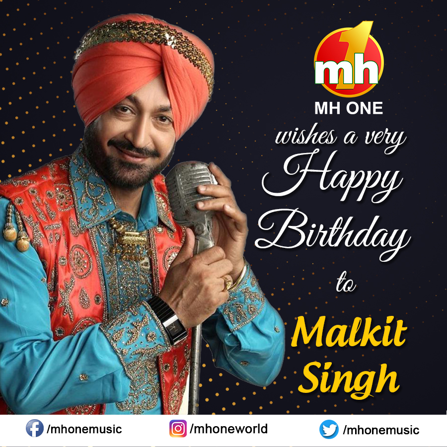 Here's wishing A Very Happy Birthday to Malkit Singh from team MH ONE.  #HappyBirthdayMalkitSingh #HappyBirthday #MalkitSingh #BestWishes #BirthdayWishes #MHONE https://t.co/S7yeWWzcOl