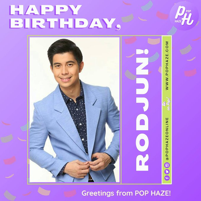 Happy Birthday, Rodjun Cruz, Erik Santos, and Nash Aguas! Greetings from us here at Pop Haze