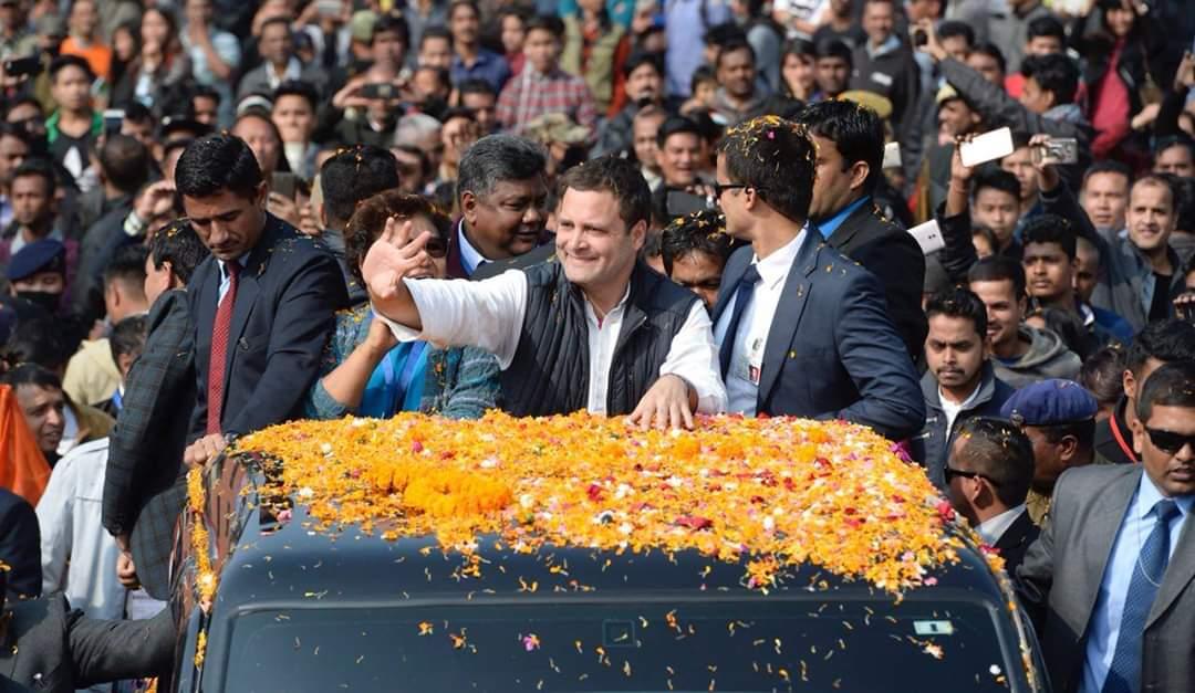 @RahulGandhi कांग्रेस ने देश को मनरेगा दी,सूचना का अधिकार दिया,युवाओं को रोजगार दिया,सुदृढ़ अर्थव्यवस्था दी,किसानों और मजदूरों को उनका हक दिया,महिला शसक्तीकरण पर जोर दिया,गरीबों को मुफ्त राशन दिया सम्पूर्ण भारत का समान्तर विकास किया और करते रहेंगे।राहुल जी