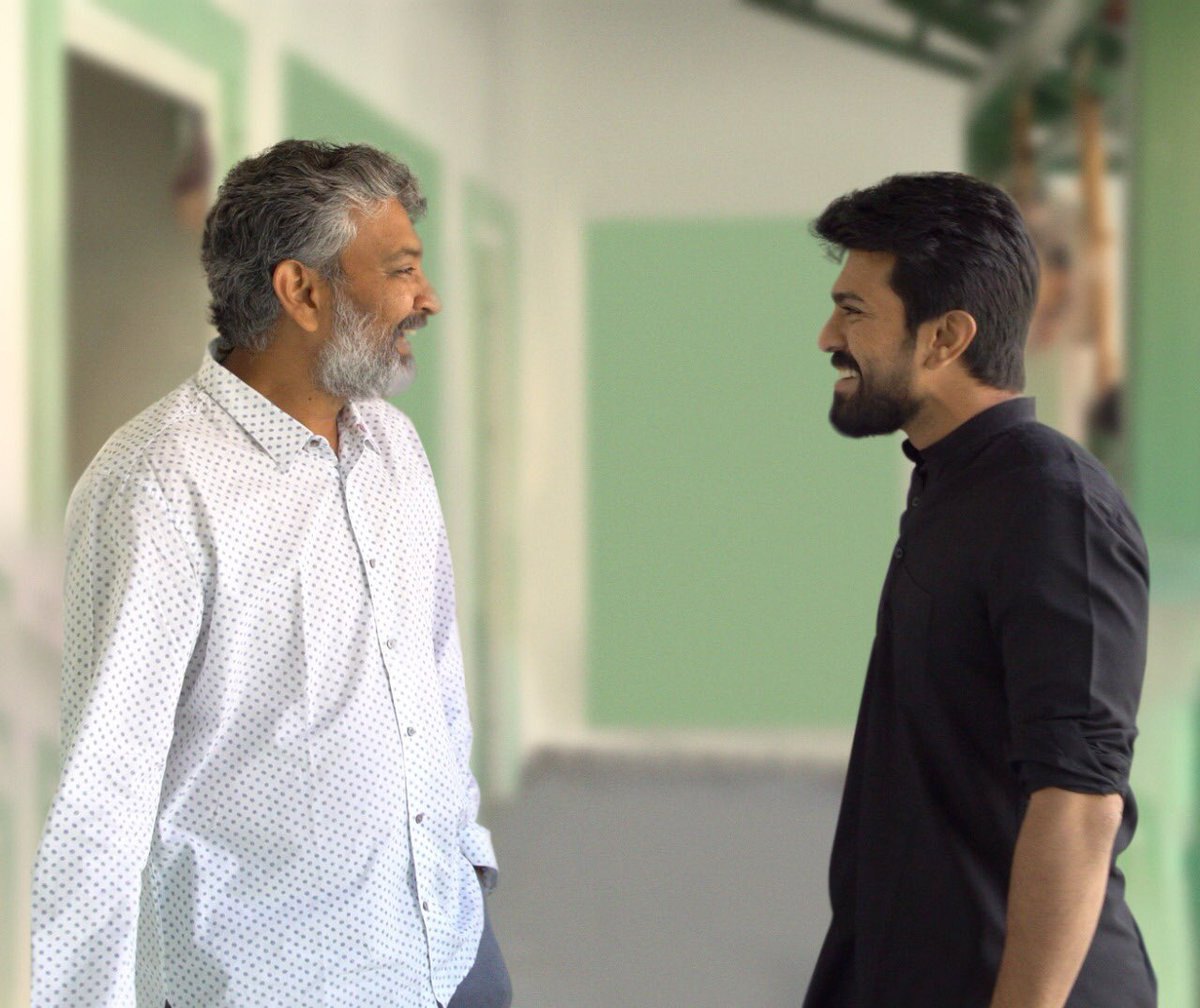 Critics are loud, but his Success is LOUDER!!  Happy Birthday to my mentor @ssrajamouli garu 🥳lots of love!!