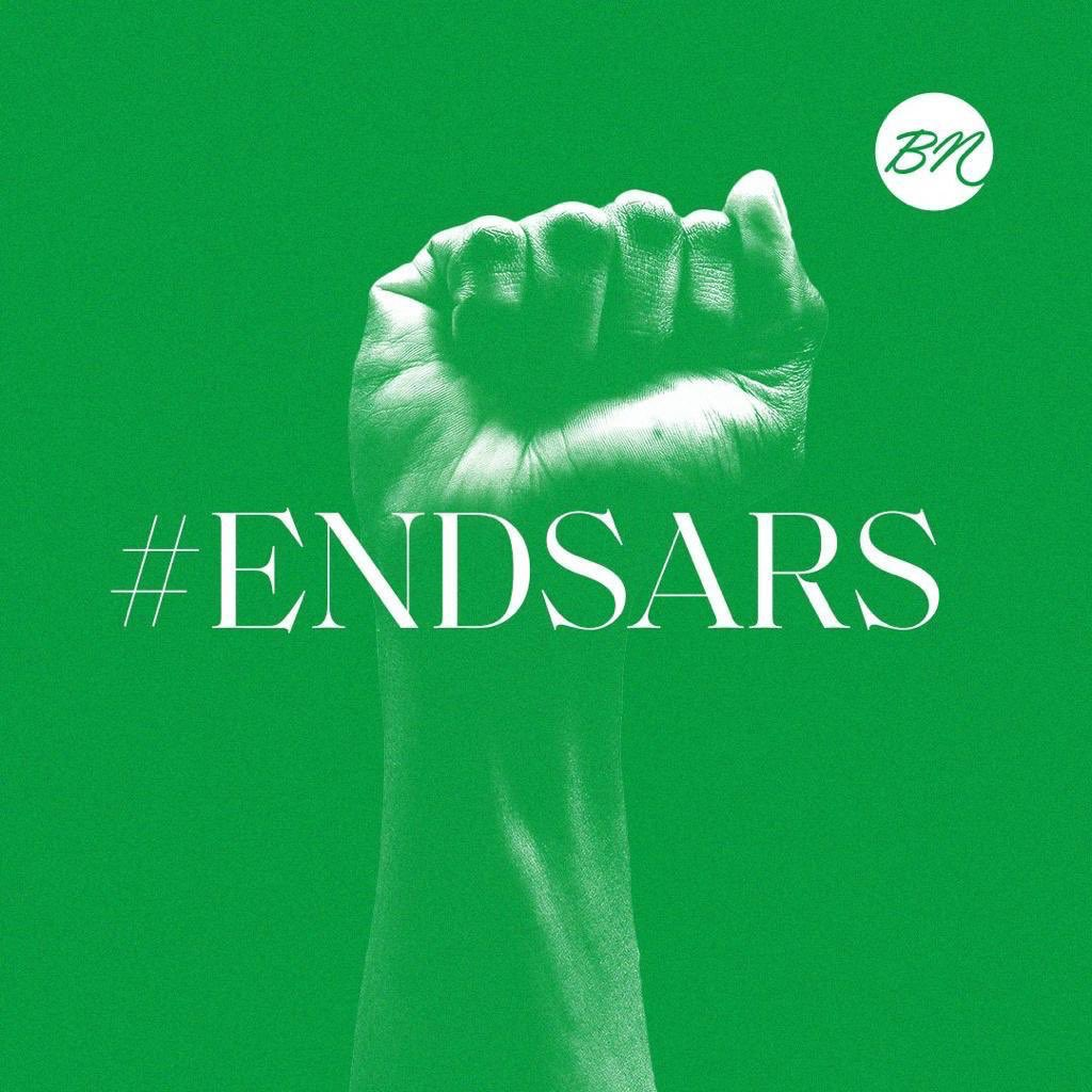 Good to see that the word is starting to spread. 🇳🇬 #EndSARS #EndSarsNow https://t.co/LHspcV0ToA