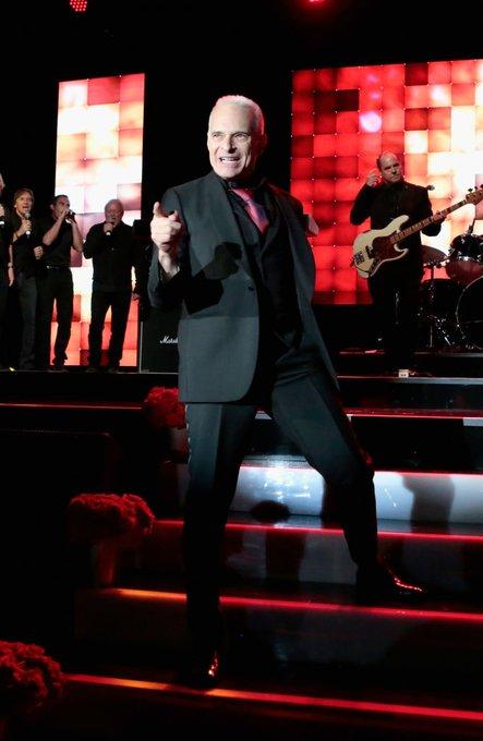 Happy Birthday to the original voice of Van Halen, Diamond David Lee Roth! :  Rachel Murray/Getty Images