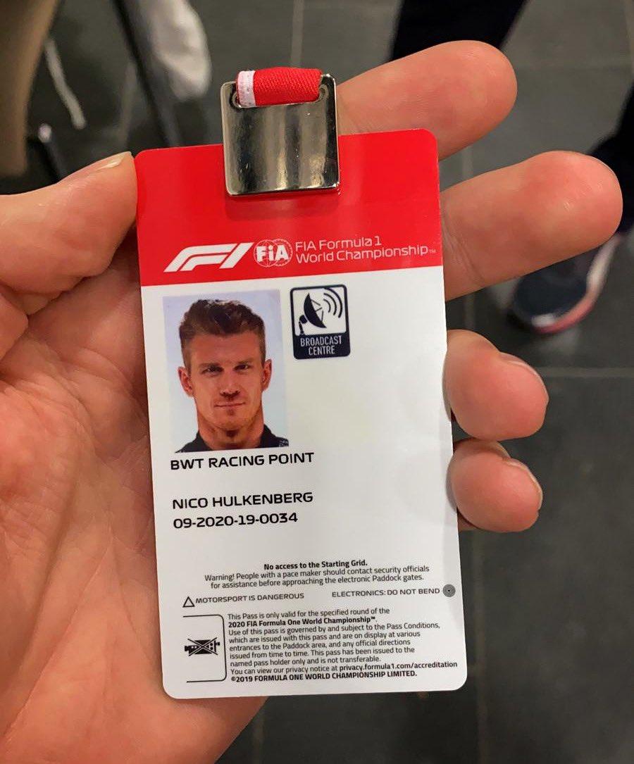 Nico Hülkenberg @HulkHulkenberg