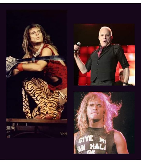 October 10, 1954   Happy Birthday to the great David Lee Roth, your music keeps moving the earth