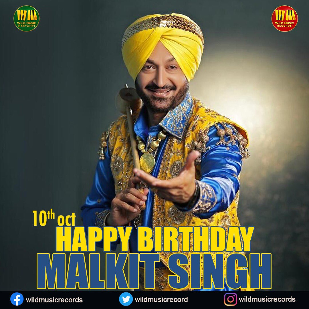 Wishing one of the Biggest Punjabi Sensations of All times A very Happy Birthday! Have a great Day #malkitsingh ⚡️  #happybirthdaymalkitsingh #malkitsingh #happybirthday #EndSARS #lockdown #coronavirus #COVID__19 #CSKvRCB #SaturdayMotivation #SaturdayVibes https://t.co/DZsZMAjboV