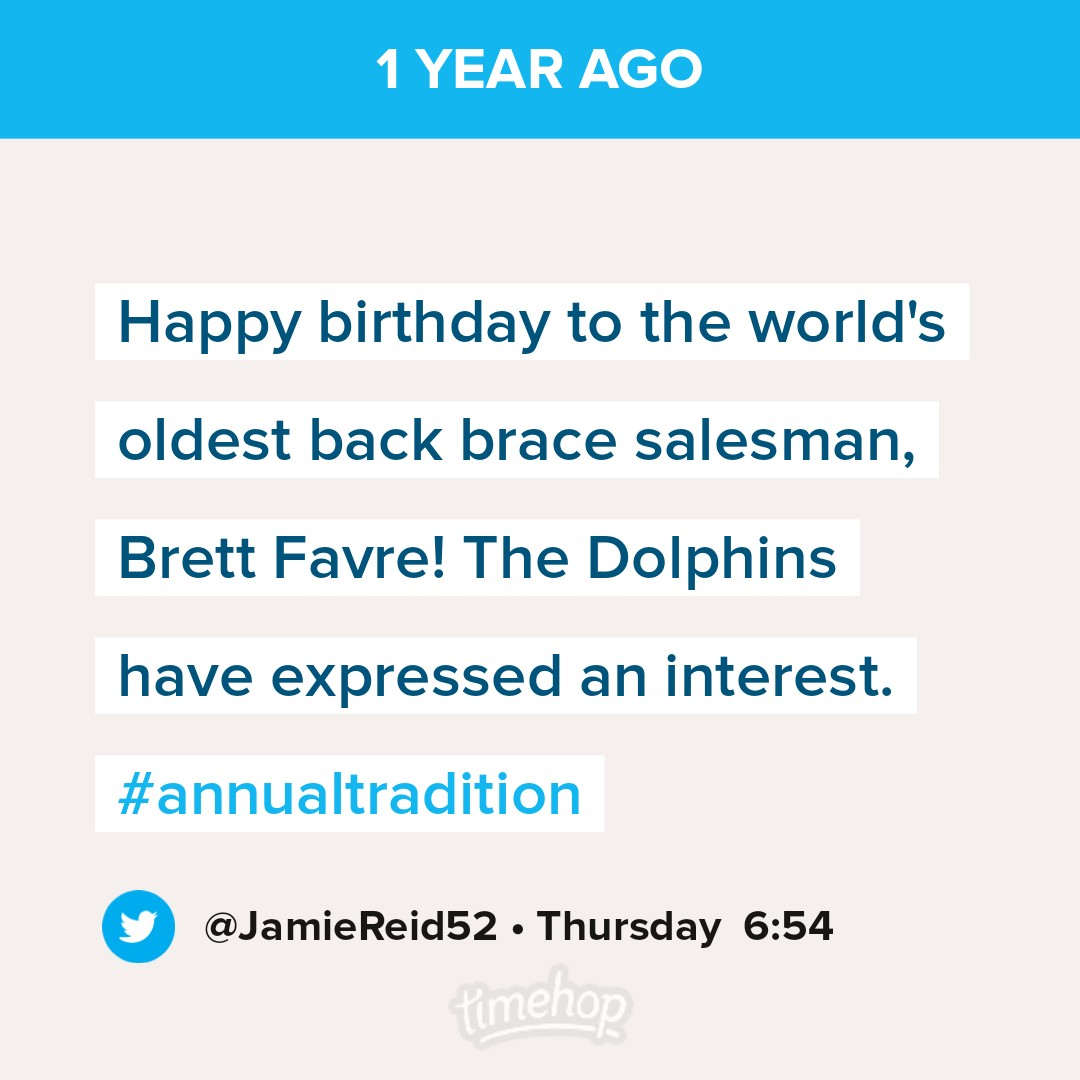 A brief history of the #annualtradition in Timehops: https://t.co/rY9370grFN