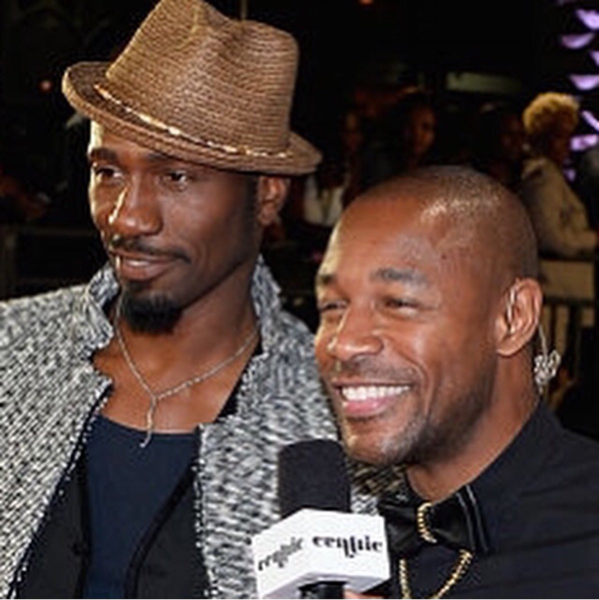 #flashbackfriday pic of @therealtank interviewing me on the #redcarpet #soultrainawardsredcarpet