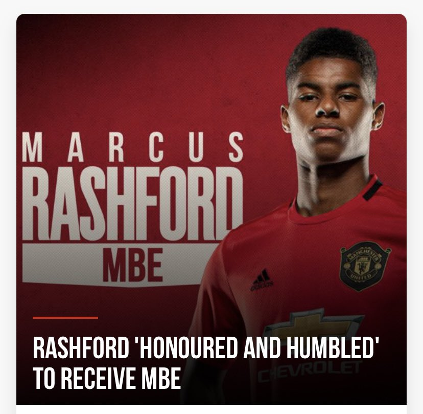 Wythenshawecc Sports On Twitter Much Deserved Recognition For Our Wythenshawe Wonder Marcusrashford The Whole Community Is So Proud Of All You Are Achieving Marcus Rashford Mbe Feedthechildren Mbe Wythenshawe Https T Co Cdfwirzogq