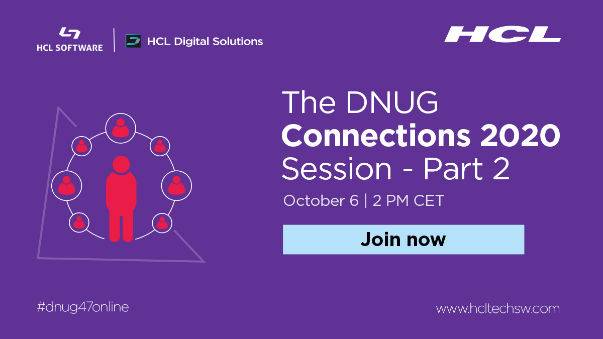 Nothing beats collaborative teamwork to get projects done on time! Join us for #dnug47online event as @mmarianordin from @KudosApps explain how #HCLConnections & Kudos Activities Plus help you get tasks done. #hclswfrance #hclswlobp https://t.co/Qukeiy19To