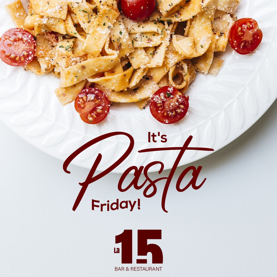 The perfect plan to start the weekend is to come and enjoy delicious pasta with your friends. We are happy to serve you. 🍝🥰⁣ 📍15-11 college point blv.⁣ .⁣ .⁣ #La15barrestaurant #nycfood #ncyeats #Pasta #Foodies https://t.co/hdXEfIKfXI