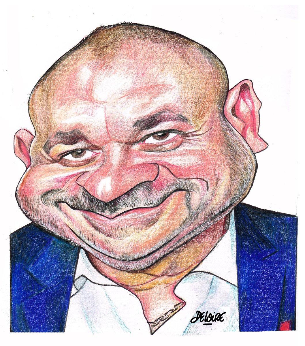🚨Exceptionnel @fredhermel !!   Laurent Deloire nous gratifie encore d'une superbe caricature  Allez le suivre sur son compte Instagram  https://t.co/8IqqiWkhmb  Qui sera le prochain ?  Je vous mets aussi une des étapes du dessin   ➡️ Follow pour d'autres exclues de l'After Foot https://t.co/BjWVpAsNjb