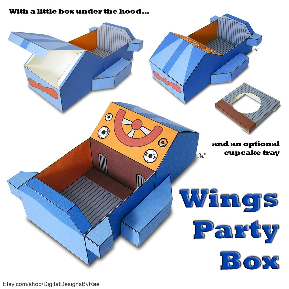 Wings Printable Gift Box! Instant download $2.49! https://t.co/254qxpIZF4 #airplane #vacation #flyingaway #upupandaway #cupcakebox #giftbox #printable #Etsy https://t.co/WOmjslvVop