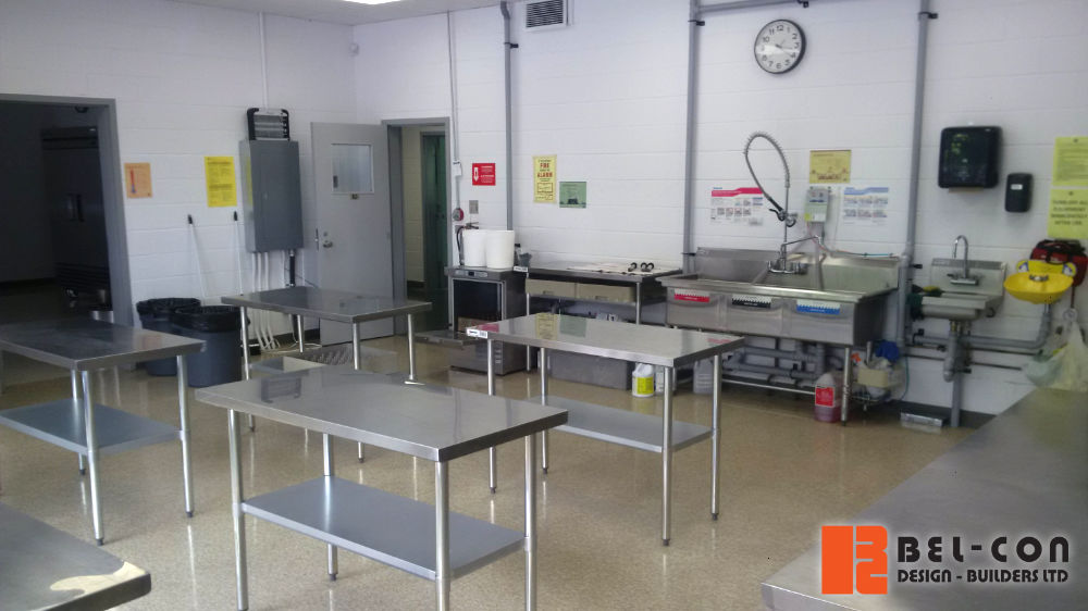 2/2 ...we separated space from the still functional portion of the school, and added new washrooms and office administration space. The new facility will help food related agri-businesses with operations and/or warehousing. #facility #retrofit https://t.co/dOO18dTisL