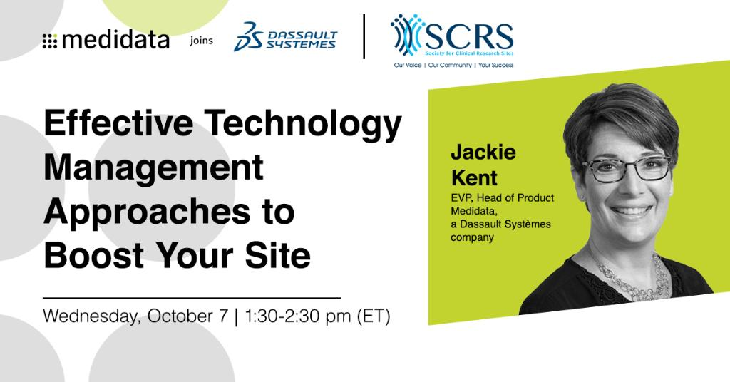 Technology can drastically improve efficiencies if adoption & integration keep both site + patient in mind. Join this session w/ Medidata's @JackieKent19 at #SCRS20, to learn how to problem solve & adopt technology for the benefit of all parties https://t.co/hXriSKzWOe @MySCRS https://t.co/KXBv4egTph