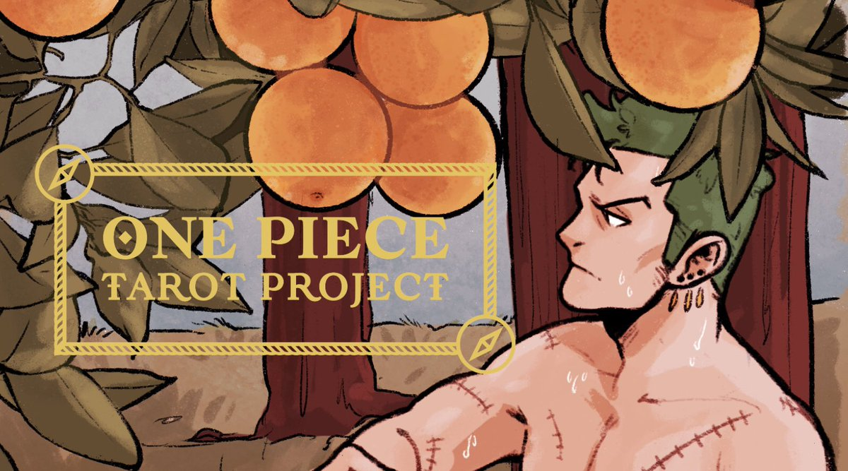 A preview of my second card for the @onepiecetarot THERE ARE ONLY 2 MORE DAYS YALL!!!!!!!! Words cannot express how proud I am of this project, and the work everyone has put into it 🥺🥺🥺! Don't miss out!! Shop link: bit.ly/32BJjkS