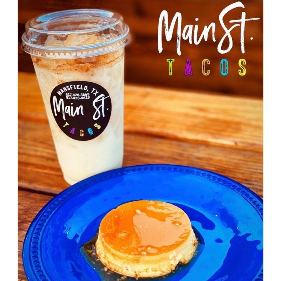 Need a sweet pick me up? Stop by & grab one of our desserts.😋  #mainsttacos #mexicanfood #restaurants #tacosnearme #streettacos #mansfieldtx https://t.co/zr0WK3RUat