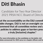 Image for the Tweet beginning: Meet Diti Bhasin, candidate for