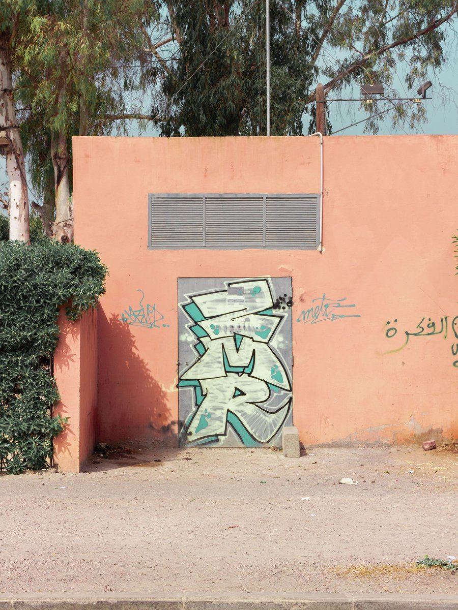 """Tag """"ZMR"""" 🎨Graffiti culture in Casa is very much entrenched into the street art scene.  . . #streetart #graffiti #streetphotography #orange #Morocco #travelphotograph #photooftheday #stilllifephotography https://t.co/4OBaouJoAt"""