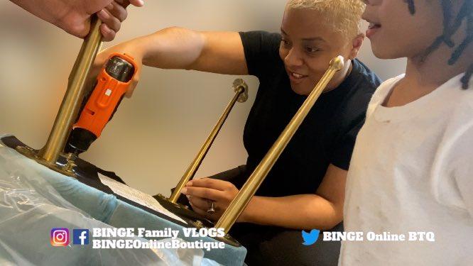 🔨 DIY PROJECT:  ASSEMBLING DINING ROOM CHAIRS!  BINGE Family VLOGS • https://t.co/ekbri4dtiW • #youtube #doityourselfproject #doityourself #diy #furniture #project #homeproject #homeimprovement #furnitureassembly #binge #vlog #content #creator #bingefamilyvlogs #youtubeblack https://t.co/F8JwIYVH8d