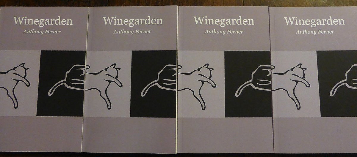 #Winegarden is an unusual and compelling #novel, exploring the anxieties of an intellectual who is forever probing the unknowability of things, especially in his relationship with his wife. It's moving, funny and intellectually stimulating. @AnthonyFerner https://t.co/XqHuSkF8GG https://t.co/4bEyD5FgOy