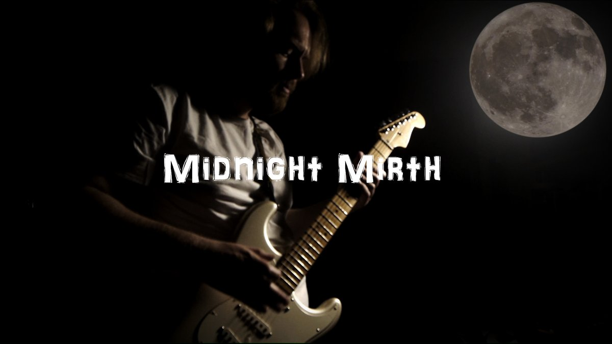 """New #liveloop #musicvideo on my @YouTube channel called """"Midnight Mirth"""" Played in one take with my @fender Strat and a loop pedal.  https://t.co/Aj2bEyxAlL  Check it out! #music #musicproducer #MusicMonday #musicproduction #guitar #guitarist #fender #rock #moon #musician #night https://t.co/DJFPkptMAP"""