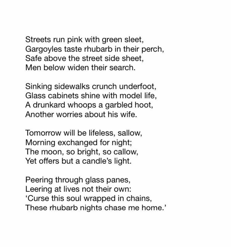 Rhubarb   #poetry #poem #poems #poemoftheday #poetrylovers #poet https://t.co/3hFfPuoaZV