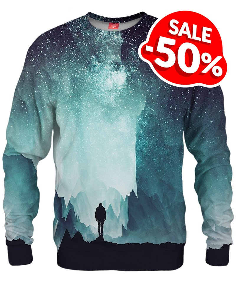 Sweater full of stars: Northern 😍✨ 🛍️👉 https://t.co/5FsZzqyeZy  Check our offer: all products are -50%!🔥🔥   #liveheroes #fullprint #alloverprint #sweater #northern #stars #starry #night #fashion #outfit #sale #discount #hotprices https://t.co/X3FjkQrAeY