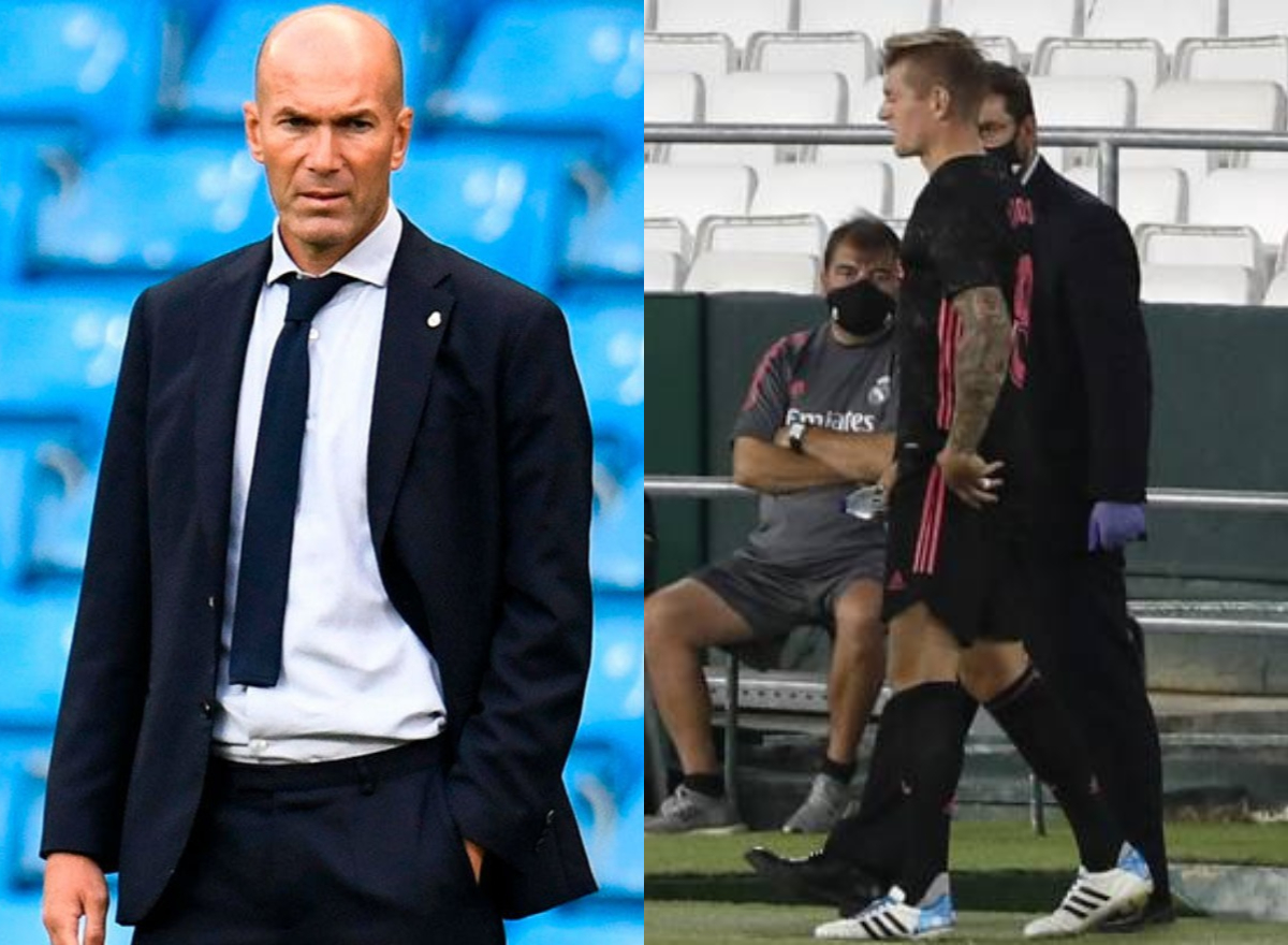 Oficial: el Real Madrid confirma la lesión de Kroos con buenas y malas noticias para Zidane  https://t.co/VgNsfDjuOJ  #RealMadrid #LaLigaSantander #Zidane https://t.co/HGleG533MX
