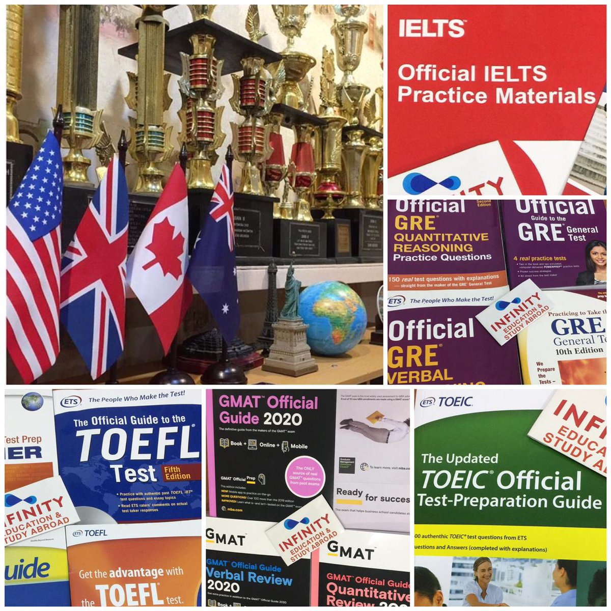 Pusat Persiapan Test #TOEFL #IELTS #GMAT #GRE #SAT #IGCSE #TOEIC • konsultasi Studi/Beasiswa ke Luar Negeri • (031)3816827 • PERTAMA & SATU-SATUNYA DI #SURABAYA https://t.co/VIqKL0riLw