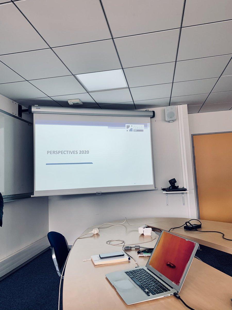😃 Première réunion post-confinement des référents @Carnot_ESP. Nous sommes tous tournés vers l'avenir avec de nouveaux projets à venir.  @Reseau_Carnot @labo_lcs @Groupe6NAPSE #GPM #CORIA #IRSEEM @GroupeESIGELEC #Certam