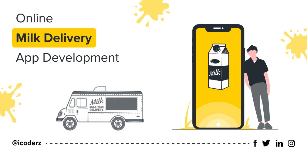 Online Milk Delivery App Development By iCoderz Solutions. https://t.co/S0TgILtB0l  #icoderzsolutions #online #milkdelivery #milkdeliveryapp #milkdeliveryappdevelopment #appdevelopment #androidappdevelopment #iosappdevelopment #digital #DigitalTransformation https://t.co/2AzlHKgvMV