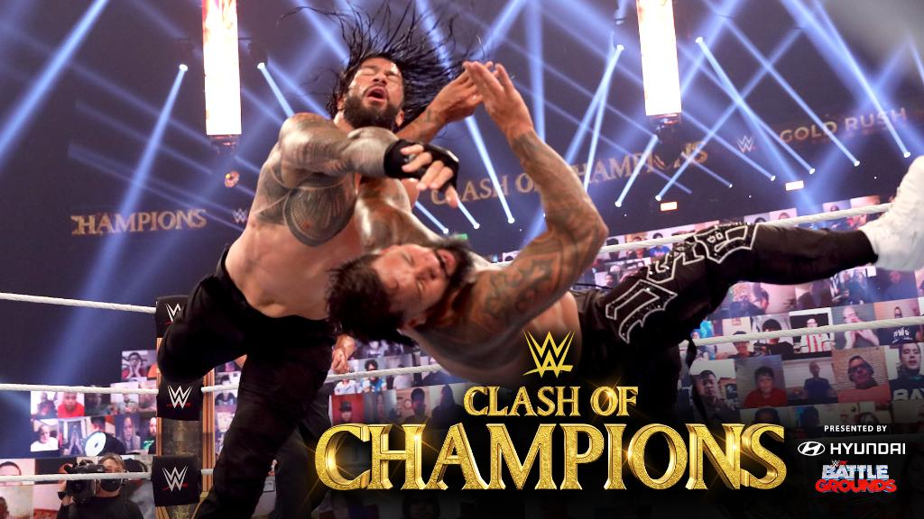 "At #WWEClash, @WWERomanReigns enforced his will as ""The Chief"" to retain the #UniversalTitle!  ➡️ https://t.co/a1pyg8BKT1 https://t.co/CQDreyK0Co"